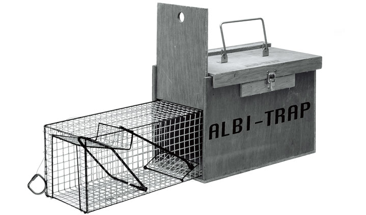 Albi 033 water vole trap albi traps - Volle trap ...